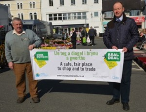Real Deal launches in Angelsey at LLangefni Market